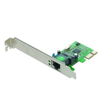 Мрежови адаптер GMB NIC-GX1 10/100/1000 Mbs, PCI-E x1 image