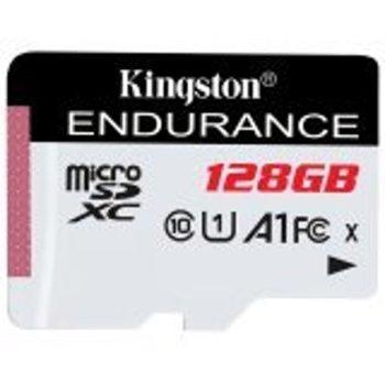 Карта памет 128GB microSDXC , Kingston 128GB SDCE/128GB, Class 10 UHS-I, скорост на четене 95MB/s, скорост на запис 45 MB/s image