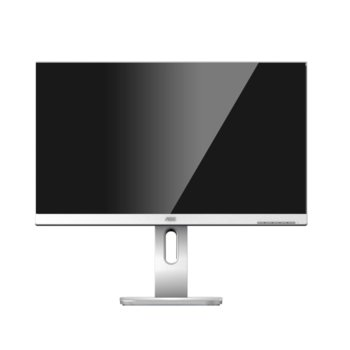"""Монитор AOC X24P1/GR, 24"""" (60.96 cm) IPS панел, WUXGA, 4 ms, 50000000:1, 300 cd/m2, Display Port, HDMI, DVI-D, VGA, 4x USB 3.1  image"""