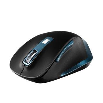 Мишка Canyon CNS-CMSW14DG, безжична, оптична (2400dpi), 6 бутона, USB, черна image