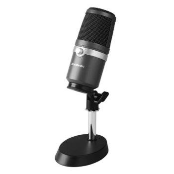 Микрофон AverMedia Live Streamer AM310, 3.5 mm жак, USB, черен image