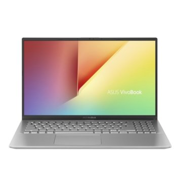 "Лаптоп Asus VivoBook15 X512FJ-EJ282 (90NB0M72-M04440)(сребрист), четириядрен Kaby Lake R Intel Core i5-8250U 1.6/3.4 GHz, 15.6"" (39.62 cm) Full HD Anti-Glare Display & GF MX 230 2GB, (HDMI), 8GB DDR4, 512GB SSD, Linux image"