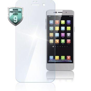 Протектор от закалено стъкло /Tempered Glass/ Hama Premium Crystal glass, за Huawei P30, прозрачна рамка image