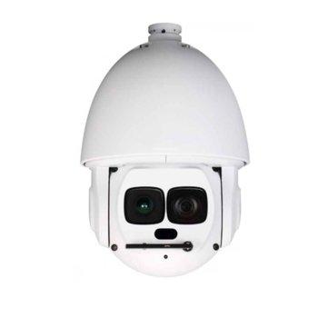 IP камера Dahua SD6AL240-HNI, куполна, PTZ, 2 Mpix(1920x1080@25FPS) 40x увеличение, 7.9mm~316mm моторизиран обектив, H.264 / MJPEG, IR осветеност (до 500 метра), Hi-PoE, IP67 защита от вода, RJ-45, Micro SD memory, 1/1 channel In/Out image