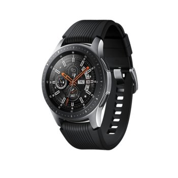"Смарт часовник Samsung Galaxy Watch 46 mm, 1.3"" (32.9mm) Super AMOLED дисплей, Bluetooth 4.2, Wi-Fi, до 80 часа време за работа, сребрист image"