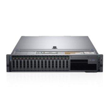 Сървър Dell PowerEdge R740 (PER740CEE03), осемядрен Intel Xeon Silver 4114 2.2/3.0 GHz, 16GB DDR4 RDIMM, 120GB SSD, 2x USB 3.0, 1x 1Gb, No OS, 750W захранване image
