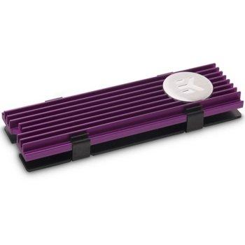 Охладител за SSD M.2 2280 EKWB EK-M.2, лилав image