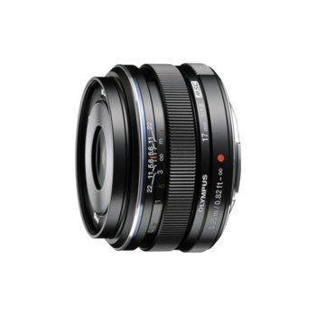 Olympus M.ZUIKO DIGITAL 17mm f/1.8 MSC (черен) product