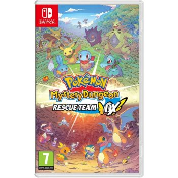 Игра за конзола Pokemon Mystery Dungeon: Rescue Team DX, за Nintendo Switch image