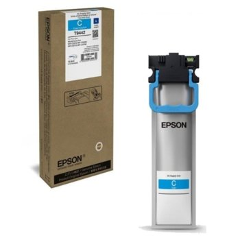Мастило за Epson WorkForce Pro WF-C5xxx - Cyan - заб: 3 000к - 19.9ml image