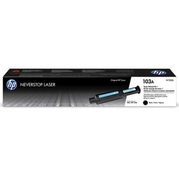 Тонер касета за HP Neverstop Laser 1000/ Neverstop Laser 1200, Black/Черен, HP 103A Neverstop Laser Reload Kit, оригинален, 2500к image