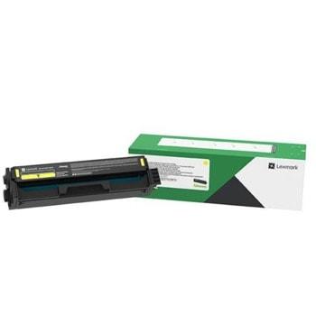 Тонер касета за Lexmark C3224 / C3326 / MC3224 / MC3326, Yellow, C3220Y0, Заб.: 1500 брой копия image