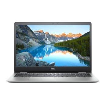 "Лаптоп Dell Inspiron 5593 (DI5593I58G512GMX230_UBU-14)(сребрист), четириядрен Ice Lake Intel Core i5-1035G1 1.0/3.6 GHz, 15.6"" (39.62 cm) Full HD IPS Display & GF MX230 2GB, (HDMI), 8GB DDR4, 512GB SSD, 2x USB 3.1, Linux image"