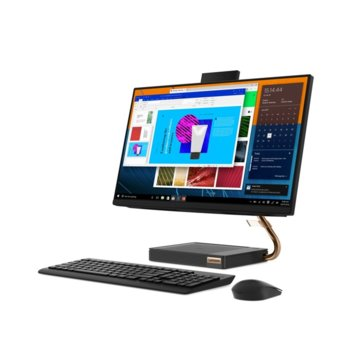 "All In One компютър Lenovo IdeaCentre AIO A540 (F0EM003DRI), четириядрен AMD Ryzen 3 3200GE 3.3/3.8GHz, 23.8"" (60.45 cm) Full HD WVA Display, 8GB DDR4, 1TB HDD, 2x USB 3.1, клавиатура и мишка, Windows 10 Home image"