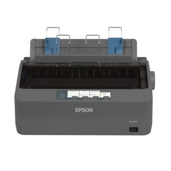 Матричен принтер Epson LQ-350, 360x180 dpi, 260 chars/s, 128MB Included, USB, Bidirectional parallel, RS-232, 2г.  image