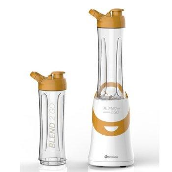 Блендер Rohnson R 571 WO, 300W, 2 чаши в комплекта, оранжев image