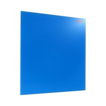 Стъклена дъска Memoboards, възможност за хоризонтален или вертиклен монтаж, размер 400x600 mm, синя image