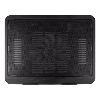 """Охлаждаща поставка за лаптоп, DF 15008, до 14"""" (35.56 cm), чернa image"""