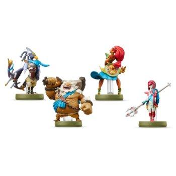 Фигура Nintendo Amiibo - The Champions (The Legend of Zelda: Breath of the Wild), за Nintendo 3DS/2DS, Wii U, Switch image