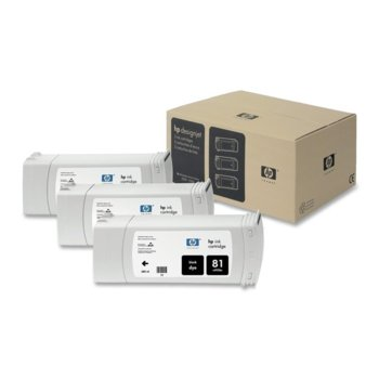 Мастило за HP 83 3 - C5067A - Black - 3x 680ml/ 1 000к image