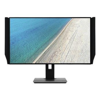 "Монитор Acer PE320QKbmiipruzx, 31.5"" (80.01 cm) IPS панел, 4K, 4ms, 350 cd/m², DisplayPorts, HDMI, USB image"