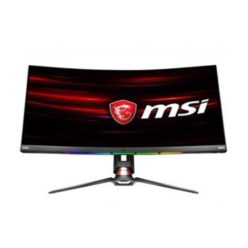 """Монитор MSI Optix MPG341CQR, 34"""" (86.36 cm) VA панел, 120 Hz, Ultra HD, 1ms, 100000000:1, 400 cd/m2, HDMI, Display Port, USB-C image"""