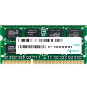 Памет 8GB DDR3L 1600MHz, SO-DIMM, Apacer AS08GFA60CATBGJ, 1.35V image