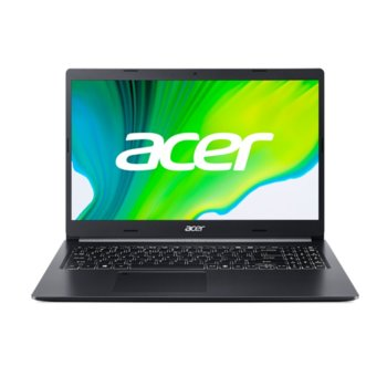 "Лаптоп Acer Aspire 5 A515-44 (NX.HW7EX.001), шестядрен AMD Ryzen 5 4500U 2.3/4.0GHz, 15.6"" (39.62 cm) Full HD IPS Anti-Glare Display, (HDMI), 8GB DDR4, 512GB SSD, 1x USB-C, No OS image"