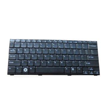 Клавиатура за лаптоп Dell, съвместима със серия Inspiron Mini 1012 1018 (Mini 10 Series), US/UK image