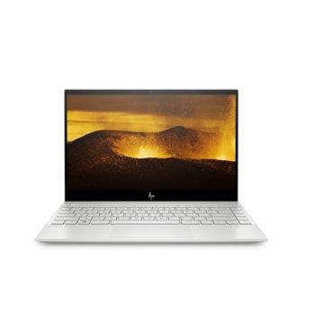"""Лаптоп HP Envy 13-aq0007nu (8AL37EA_7ZE80AA) в комплект с куфар HP, четириядрен Whiskey Lake Intel Core i5-8265U 1.6/3.9 GHz, 13.3"""" (33.78 cm) Full HD IPS Glare Touchscreen Display, (USB Type C), 8GB DDR4, 512GB SSD, Windows 10 Home, 1.20 kg image"""