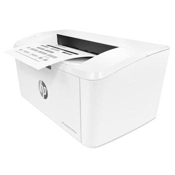 Лазерен принтер HP LASERJET PRO M15A (W2G50A), монохромен, 600 x 600 dpi, 18 стр/мин, LAN, USB, А4 image