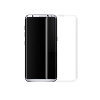 Tempered Glass for Galaxy S8 Plus бял 52292 product