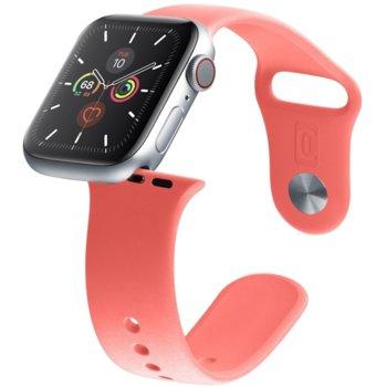 Каишка за смарт гривна Cellularline Urban 38/40mm, за Apple Watch, силиконова, червена image