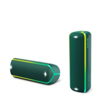 Тонколона Sony XB32, 2.0, Bluetooth, NFC, 3.5mm жак, зелена, IP67 image
