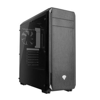Кутия Genesis Titan 660 Plus, ATX, Micro-ATX, Mini-ITX, 1x USB 3.0, 2x USB 2.0, прозорец, черна, без захранване image