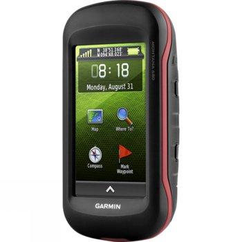 """Ръчна навигация Garmin Montana 680, пътеки или в автомобила, 4""""(10.16 cm) TFT дисплей, 8 mpix, 4GB + microSD Flash, BlueChart, IPX7, камера, Световна базова карта image"""