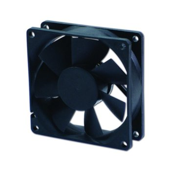 Вентилатор 80мм, EverCool EC8025TH12BA, 2Ball 4000rpm image