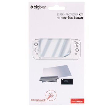 Протектор за екран BigBen Interactive Screen Protector Kit, за Nintendo Switch image