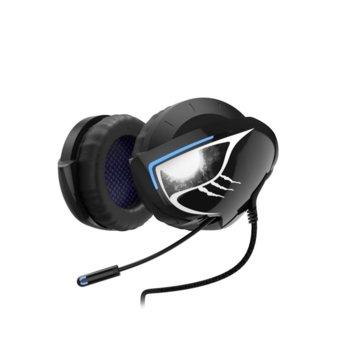 Геймърски слушалки Hama uRage SoundZ 500 Neckband, микрофон, USB, черни image