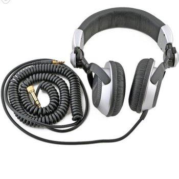 Слушалки Panasonic DJ Technics RP-DJ1210E-S, 3.5mm жак, Extra Bass System, проводник от безкислородна мед, сребристи image