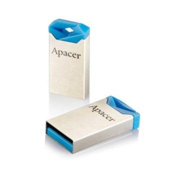 Памет 16GB USB Flash Drive, Apacer AH111, USB 2.0, златиста image