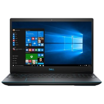 "Лаптоп Dell Inspiron G3 3590 (DI3590I59300H8G256G1T1050_UBU-14), четириядрен Coffee Lake Intel Core i5-9300H 2.4/4.1 GHz, 15.6"" (39.62 cm) Full HD Anti-Glare Display & GTX 1050 3GB, (HDMI), 8GB DDR4, 256GB SSD & 1TB HDD, Linux  image"