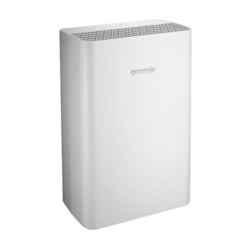 Пречиствател на въздух Gorenje OPTIAIR 203M, за помещения до 20m², индикатор за почистване на филтъра, дигитален таймер, йонизатор, бял image