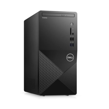 Настолен компютър Dell Vostro 3888 MT (N603VD3888EMEA01_2101_M), шестядрен Comet Lake Intel Core i5-10400 2.9/4.3 GHz, 4GB DDR4, 1TB HDD, 4x USB 3.1, клавиатура и мишка, Windows 10 Pro image