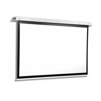 Екран Avers CONTOUR 40-23 MW BB, за стена/таван, Matt White, 4000 x 2540 мм, 16:10 image