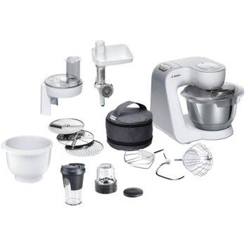 Кухненски робот Bosch MUM 58250, 3D Planetary Mixing, 7 степени на работа, 1000W, бял  image
