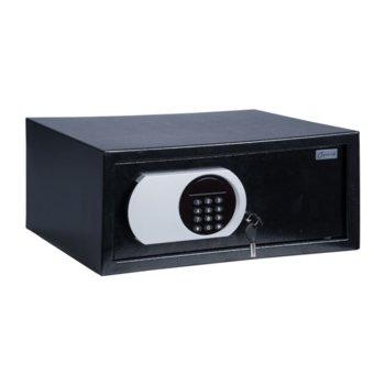 Сейф Carmen CR-1555 20 x 38 x 44 cm, черен image