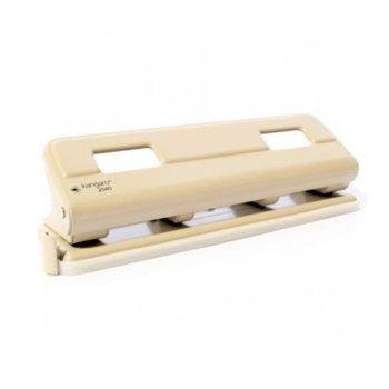 Перфоратор с 4 дупки Kangaro, за 16 листа, метален, с контейнер image