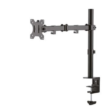 """Стойка за монитор/телевизор NewStar FPMA D550BLACK, за екрани от 10"""" до 32"""", VESA 100x100 mm, макс до 8кг, регулируема, черен image"""