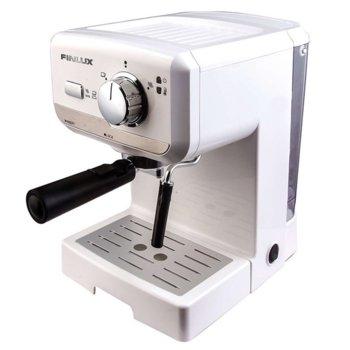 Ръчна еспресо кафемашина Finlux FEM-1694WH, 1140W, 1.5л. резервоар image